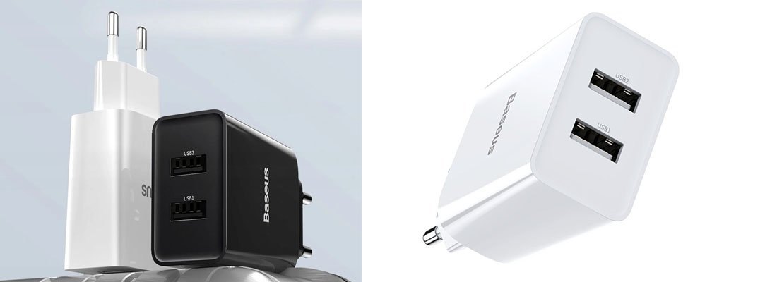 Baseus Speed Mini Dual 10.5W Sarj Cihazı